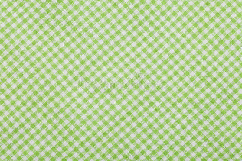 Download Green Checkered Tablecloth Background Stock Image - Image: 28774067