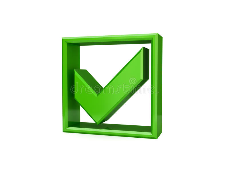 Download Green Checkmark Icon. Stock Image - Image: 23553711