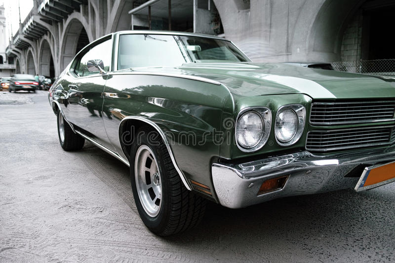 Download Green Chevrolet Malibu Stock Images - Image: 34443134