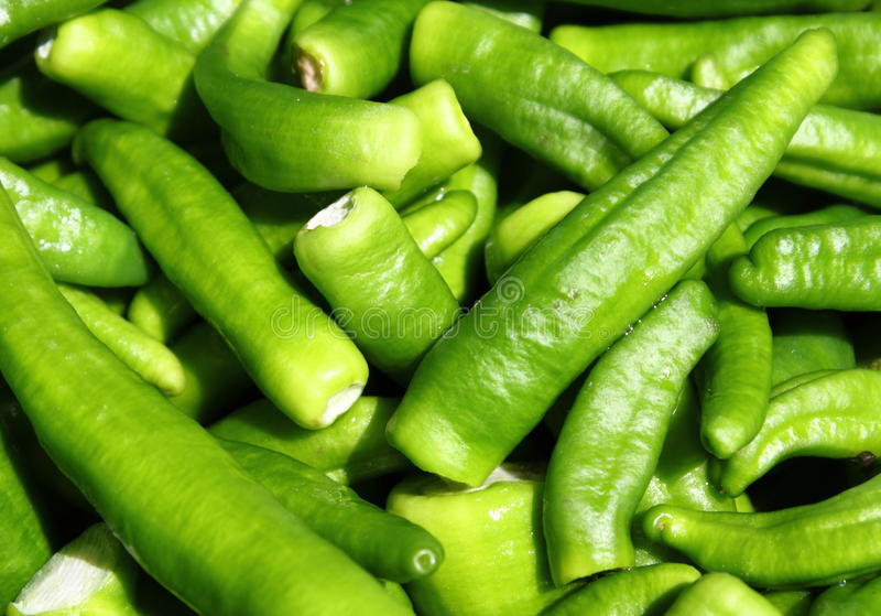 Download Green chili peppers stock image. Image of chillie, diet - 20047085