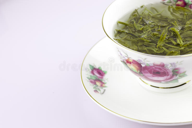 Download Green Chinese Tea In The Cup Stock Photo - Image: 20897188