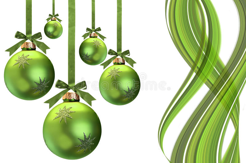 Download Green Christmas stock image. Image of ribbon, seasonal - 11517031