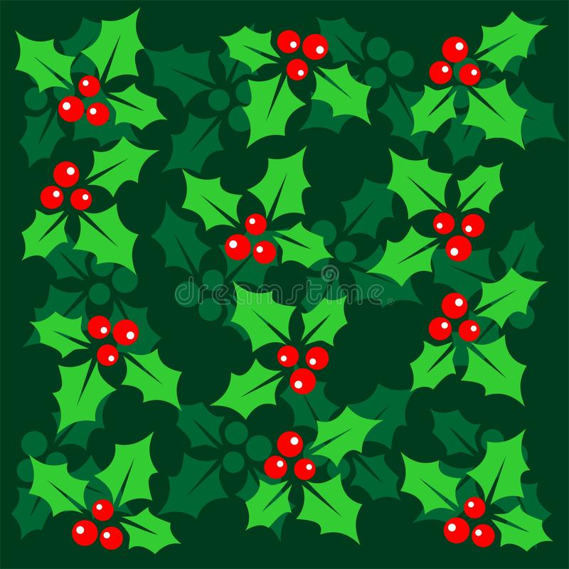 Green christmas background stock photo