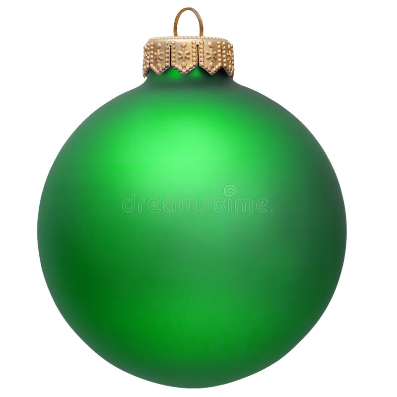 Free Green Christmas Ornament . Stock Images - 11774994