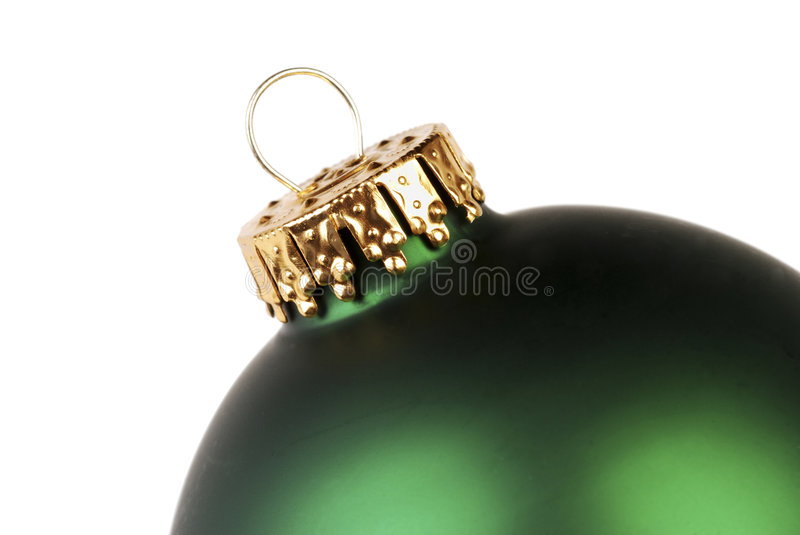 Download Green Christmas Ornament stock image. Image of round, white - 6045021