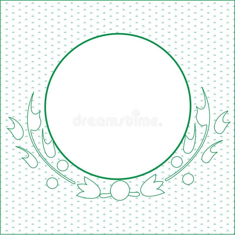 Download Green circle stock illustration. Illustration of shape - 5791391