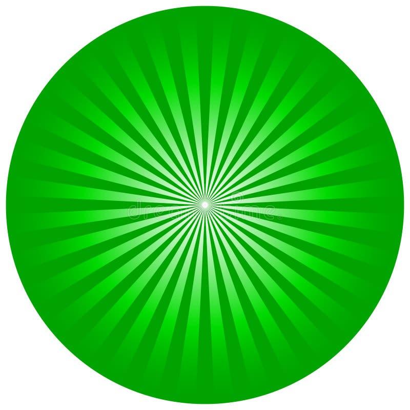 Green circle vector illustration