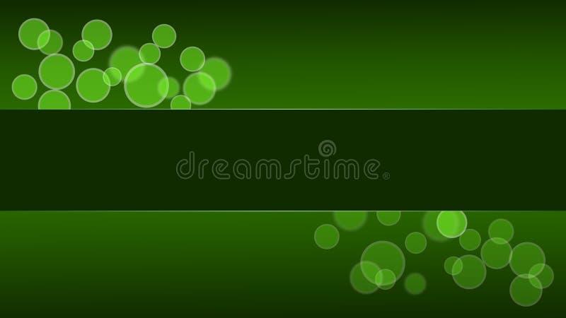 Green Circle Desktop stock photography