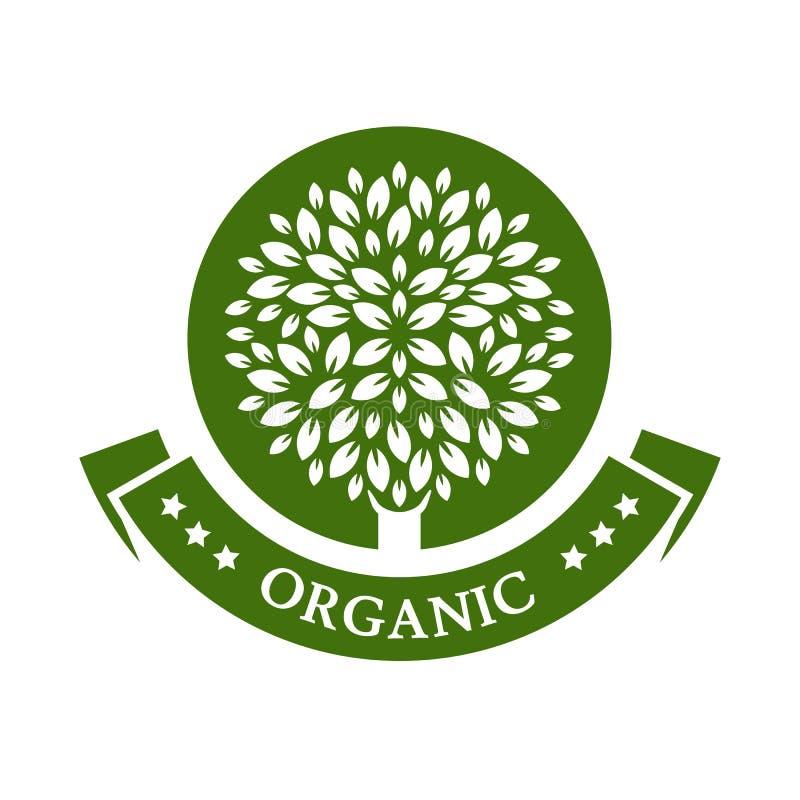 Green Circle Tree Vector Logo Design Template. Garden Or ...