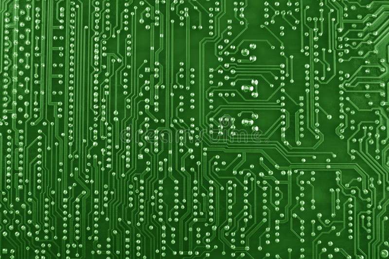 Download Green Circuit Board Background Stock Images - Image: 25841454