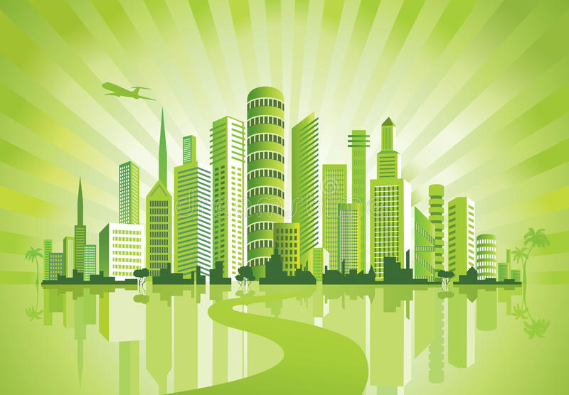 Download Green City. Royalty Free Stock Photo - Image: 20464605