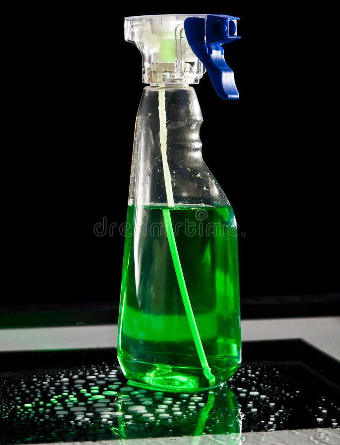 Download Green cleaner stock photo. Image of aerosol, clear, cleaner - 10920242