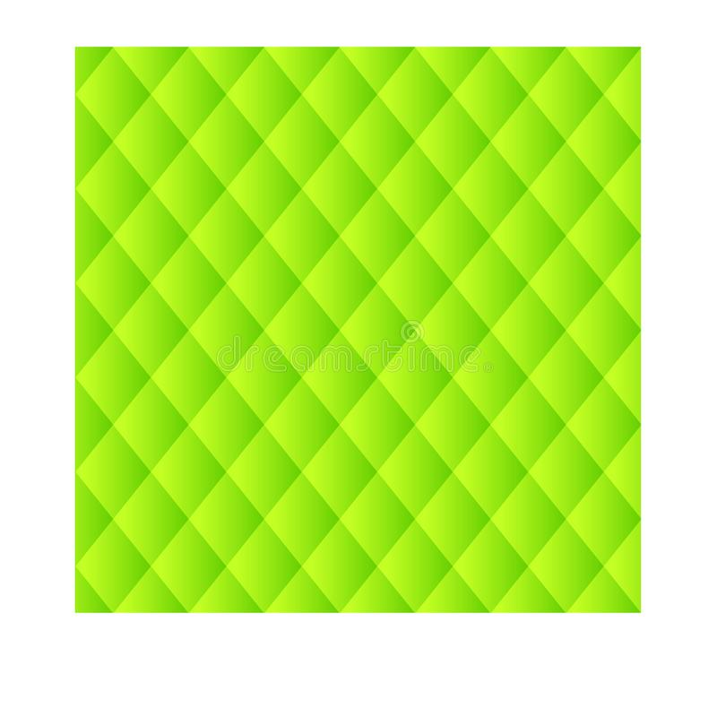 Green cloth texture background. stock illustration