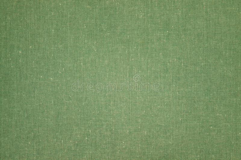 Green color book cover textile stock photography