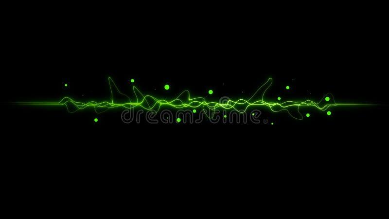 Download Green  Color Dynamic Lines Modern Abstract Stock Illustration - Illustration of designer, flow: 92344061
