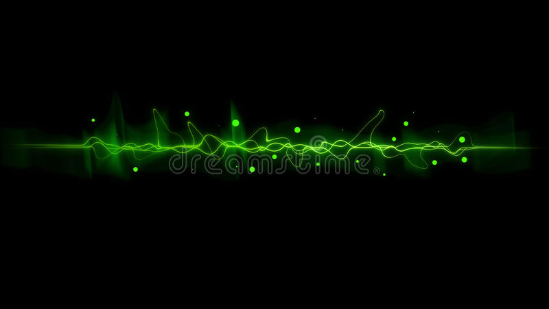 Download Green  Color Dynamic Lines Modern Abstract Stock Illustration - Illustration of communication, bright: 92344089