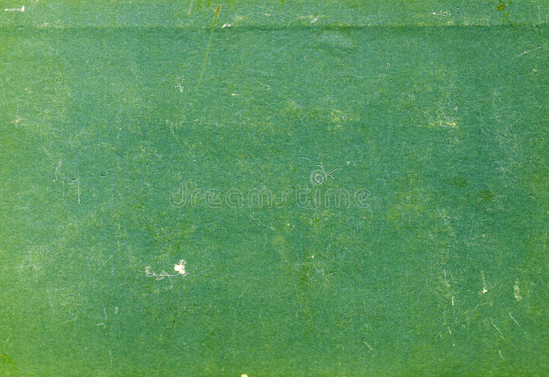 Green color scratched paper texture. royalty free stock image