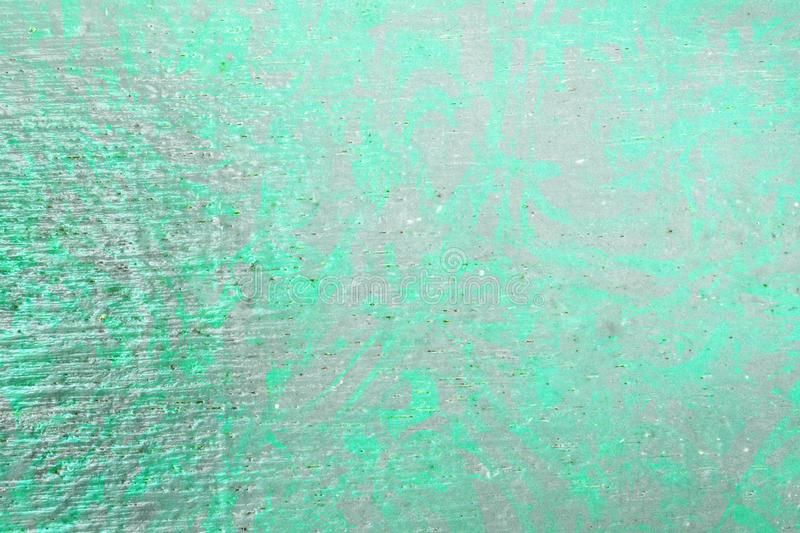 Green  color  wooden paint wall texture  abstract background stock photo
