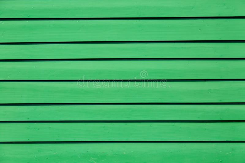 Green colored pastel wood background. Wooden abstract background. royalty free stock image