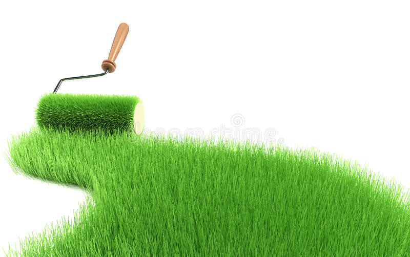 Green concept stock illustration