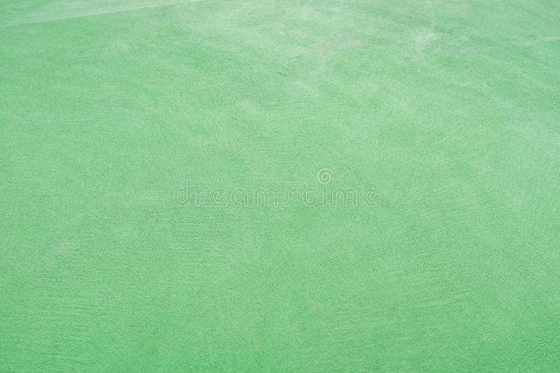 Green concrete floor as background & texture. Green concrete floor as background and texture royalty free stock photos