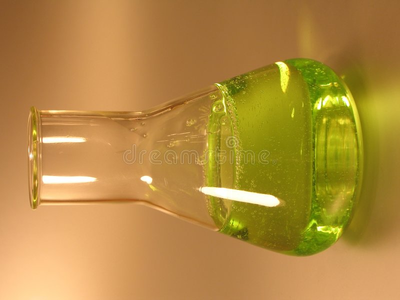 Download Green Conical Flask II Stock Photo - Image: 12680