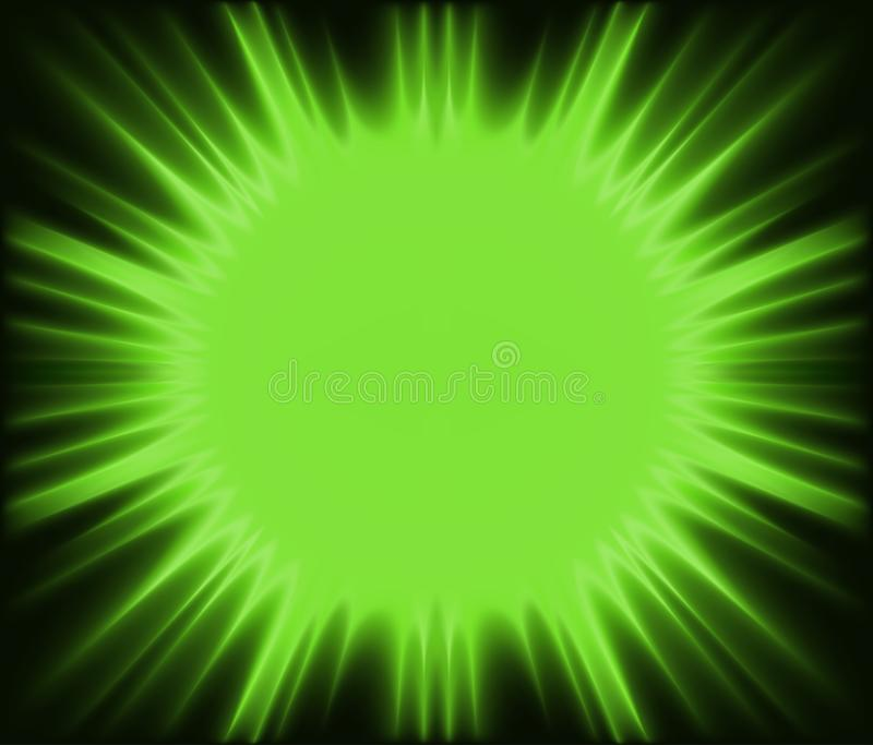 Download Green Corona stock vector. Image of sunbeam, illustration - 25053171