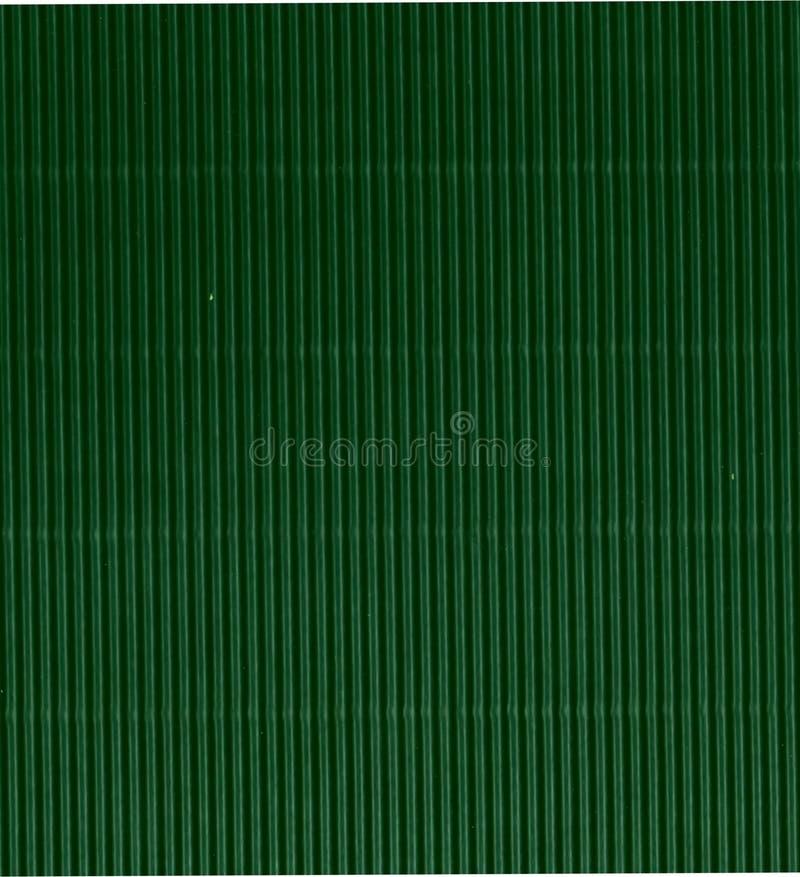 Green Corrugated Cardboard Background Stock Photo