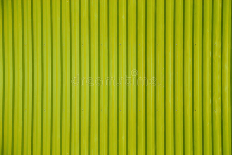 Green Corrugated Metal Sheet Texture Background Stock