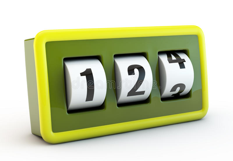 Download Green counter stock illustration. Image of change, idea - 20982793