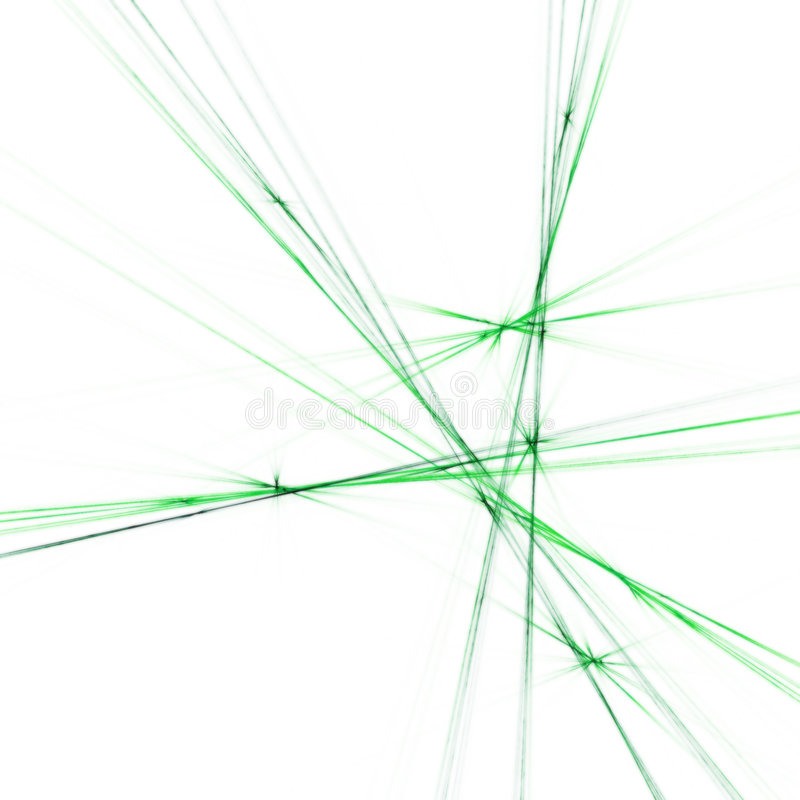 Green cross vector illustration