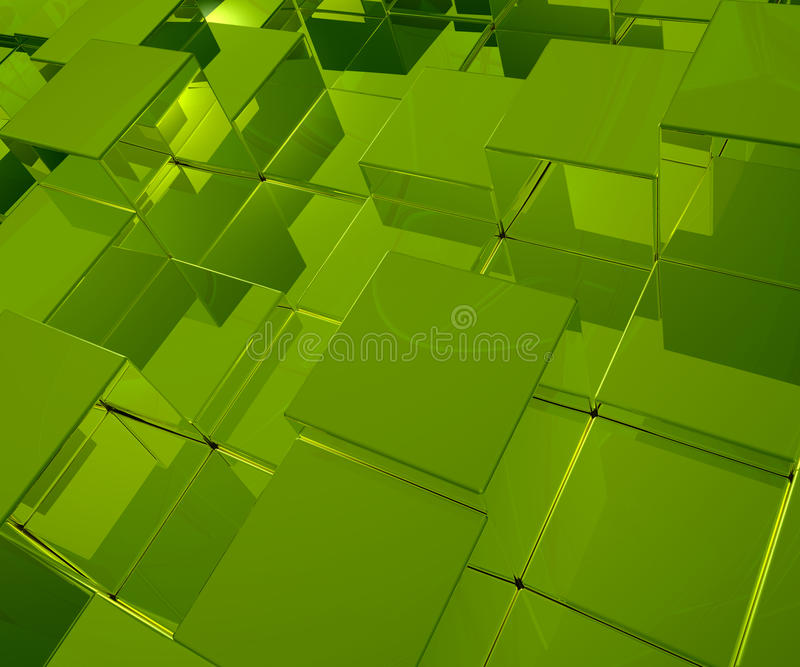 Download Green Cubes Royalty Free Stock Photo - Image: 22417615