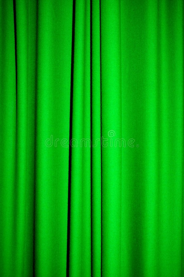 Green curtain stock image. Image of interior, fashion ...