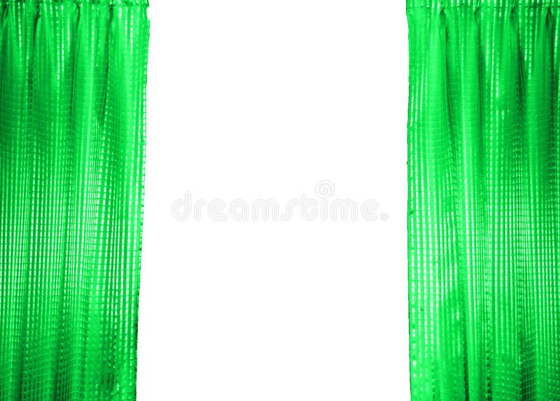 Download Green Curtain stock image. Image of furniture, curtain - 23886795