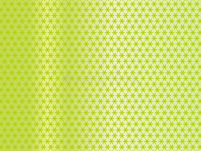 Green curtain. Green fabric texture with waves stock illustration