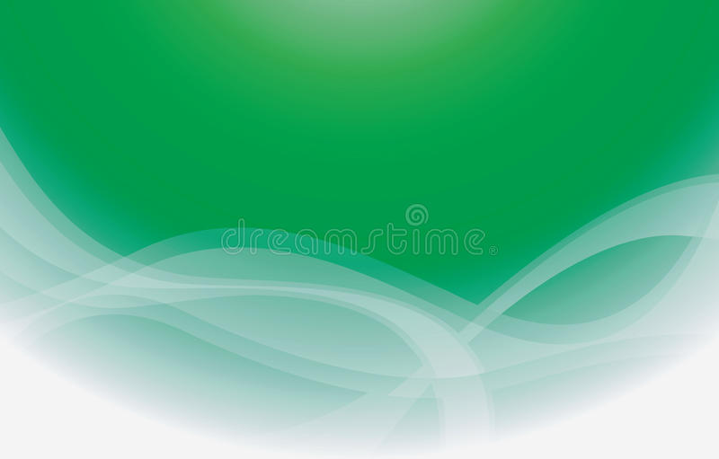 Download Green Curve Background stock vector. Image of texture - 10225345