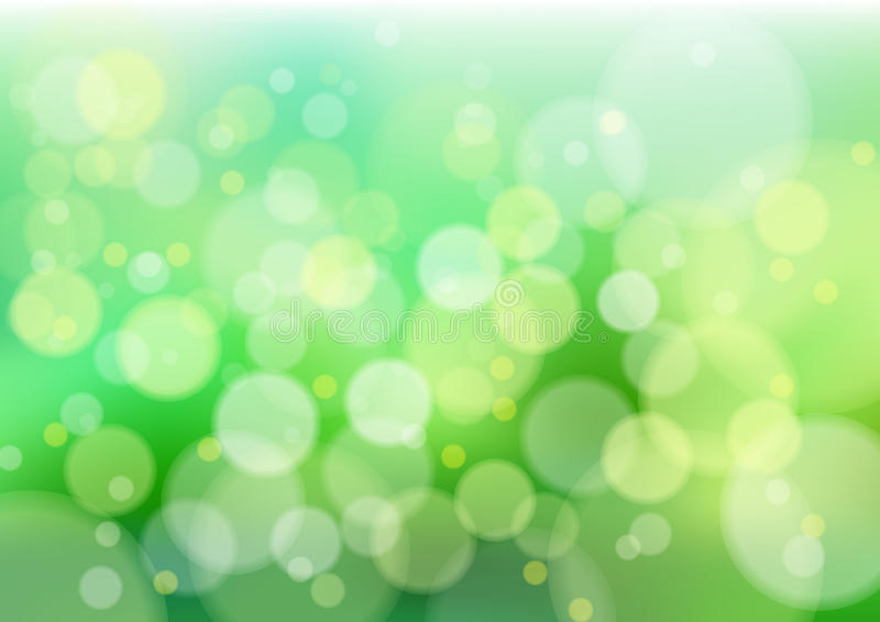 Download Green defocus lights stock vector. Illustration of abstract - 16128865
