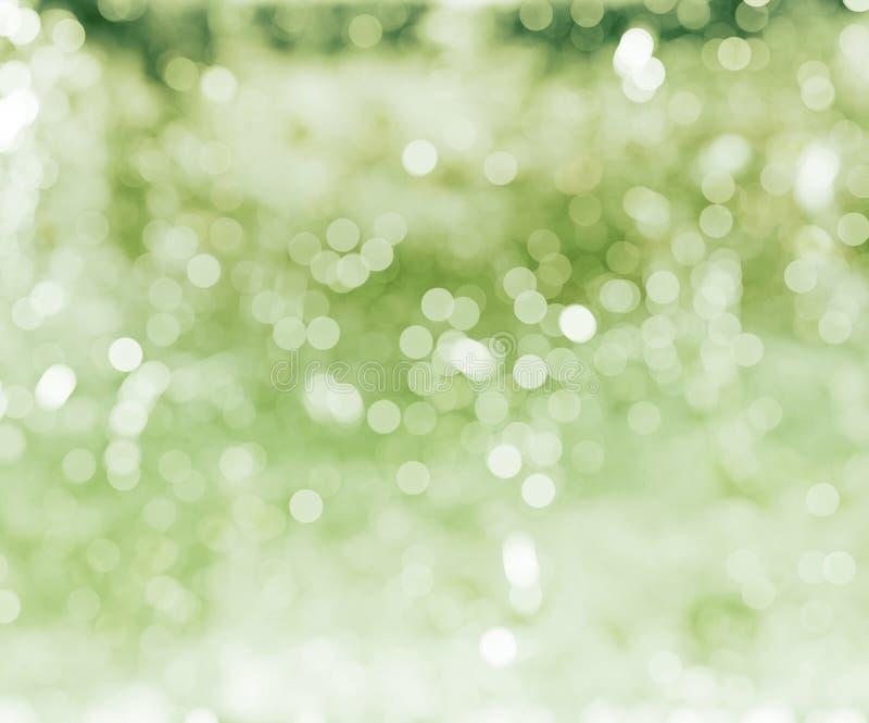 Green defocused background stock photos