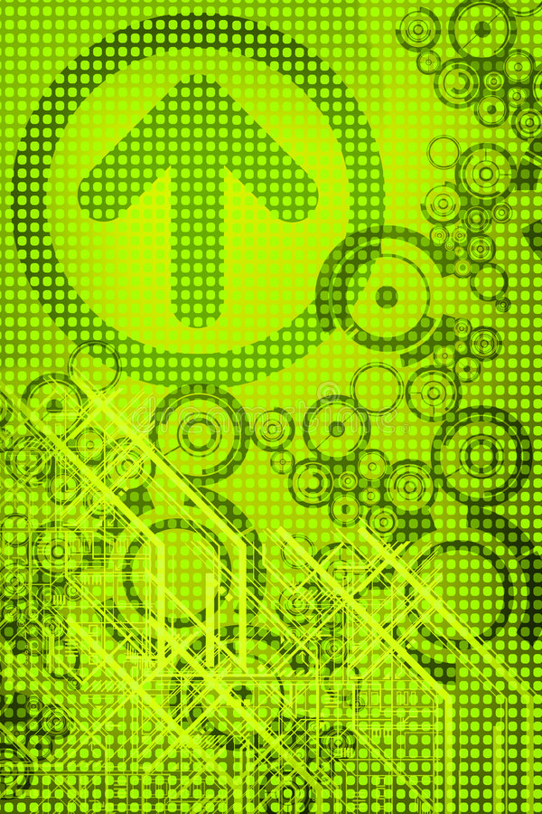 Green Design stock image
