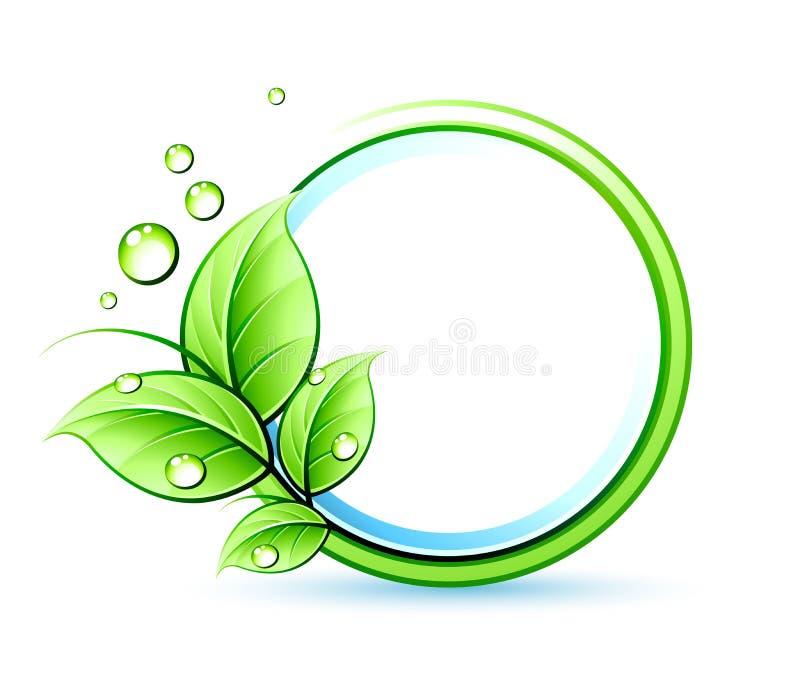 Green design royalty free illustration