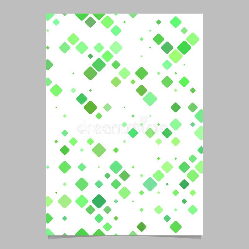 Green Page Corner Design Template Stock Vector