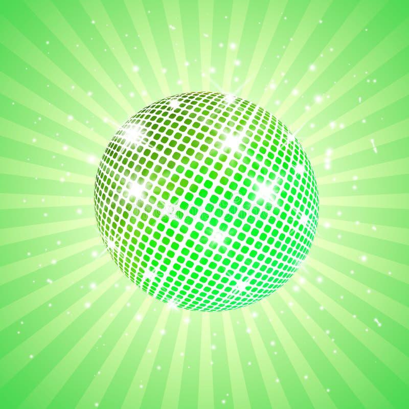 Free Green Disco Ball Stock Photo - 23556130
