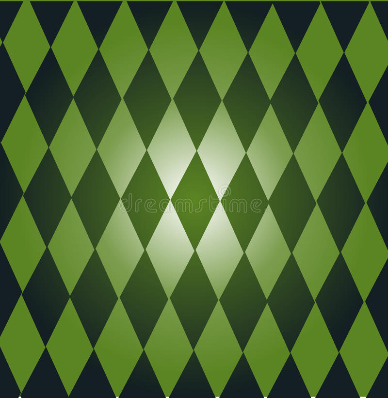 Green dominoes royalty free stock images