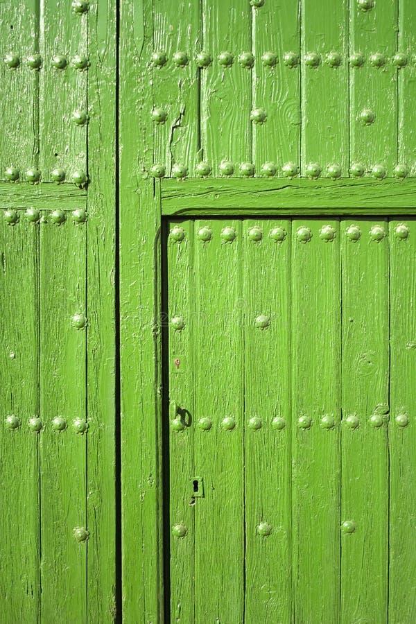 Download Green door stock photo. Image of open, door, color, closed - 4185886