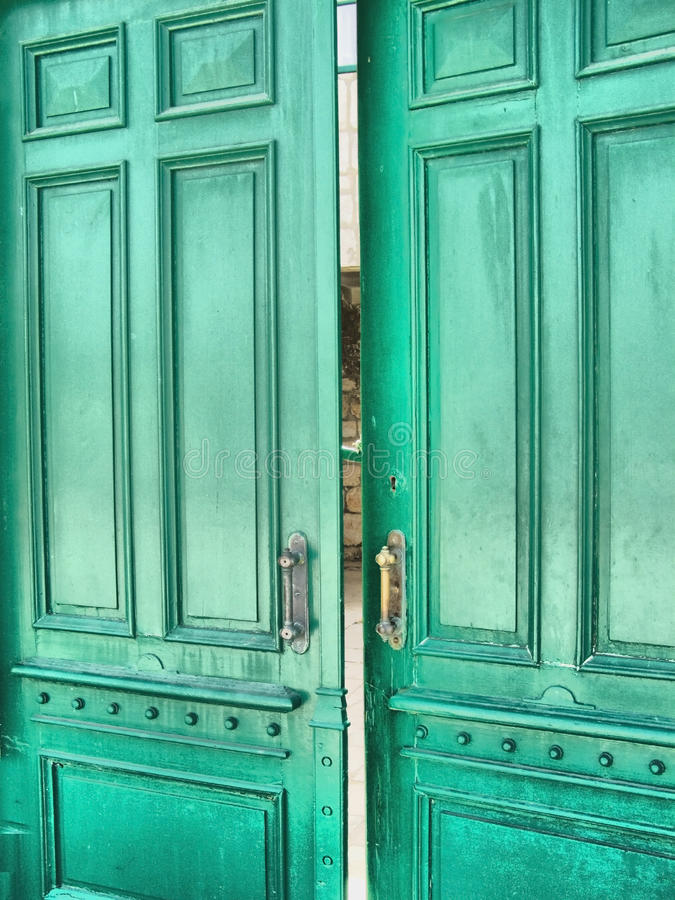 Free Green Door (HDR) Stock Photos - 17773503