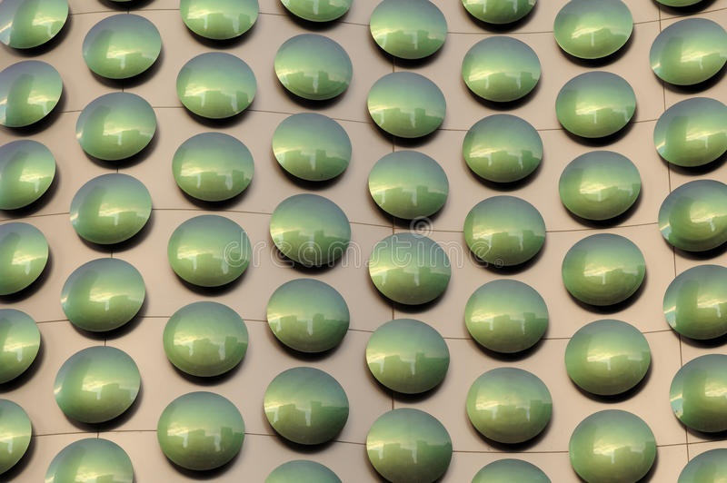 Green Dots Royalty Free Stock Image