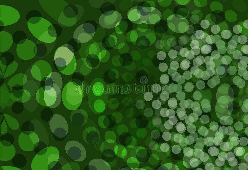 Green Dots Background stock illustration