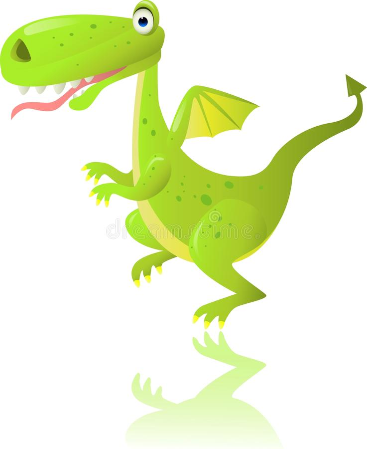 Download Green dragon stock vector. Illustration of illustration - 20656079