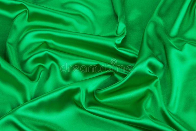Green drapery. Isolated as a whole background stock photography