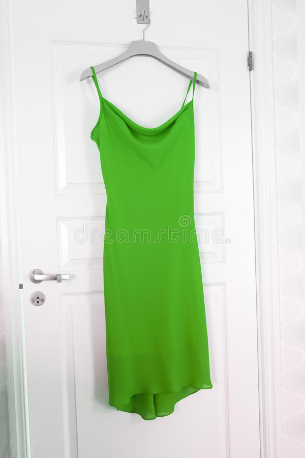 Green Dress stock images